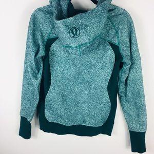 Lululemon sea mist green scuba hoodie 6